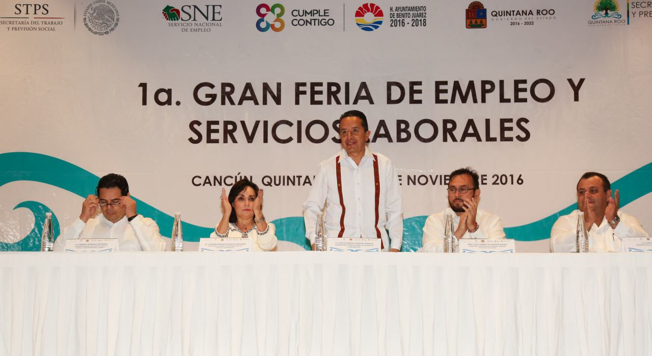 Feria estatal de empleo, Catalina Portillo